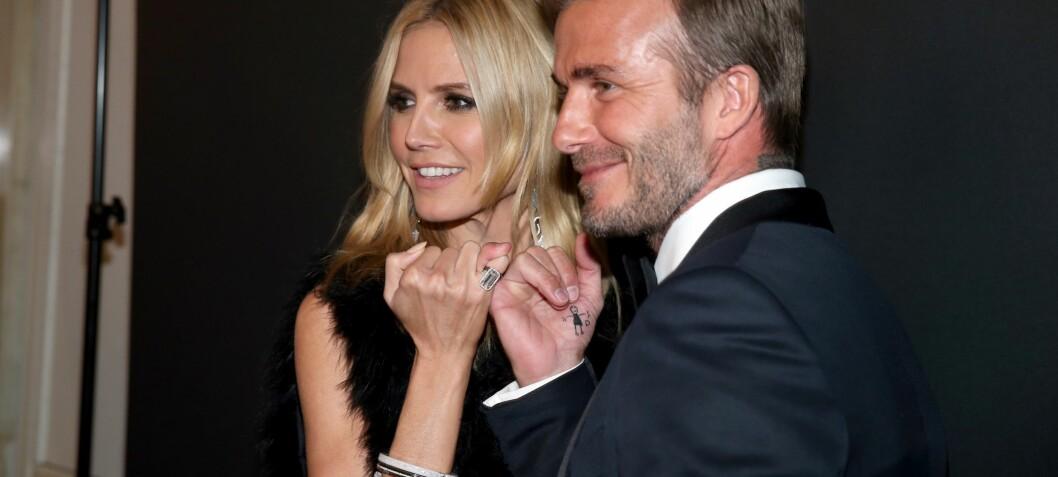 David Beckham ble hedret av Hollywood-skjønnhetene