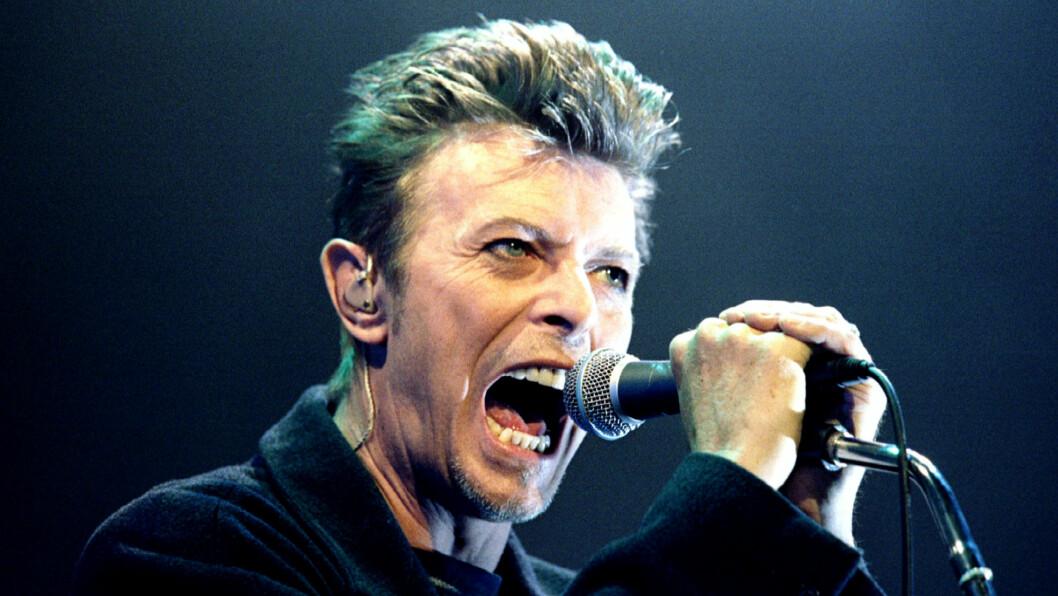 LEGENDE: David Bowie er død, 69 år gammel.  Foto: NTB scanpix