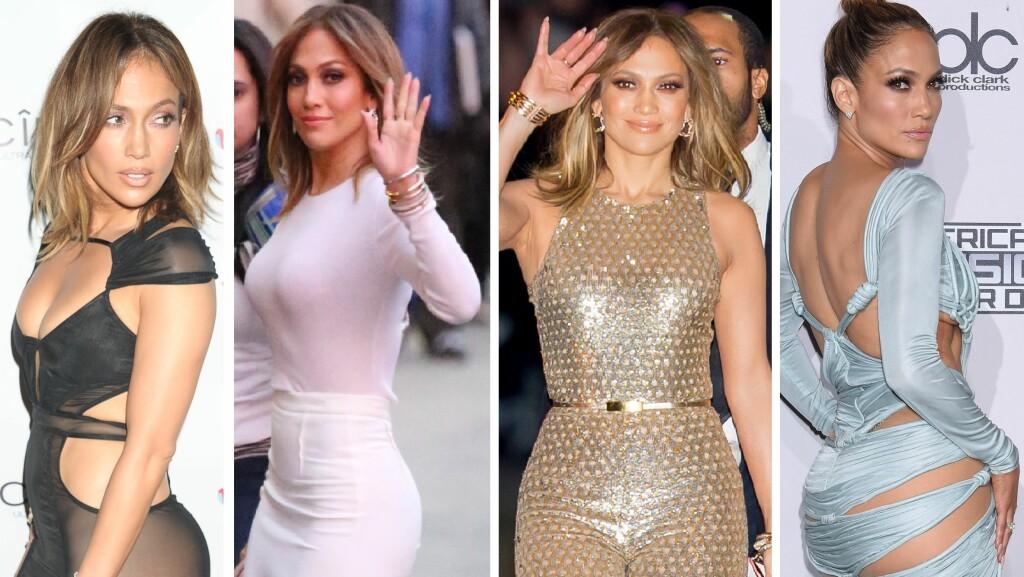 VELDREID: Jennifer Lopez elsker å vise frem sine smekre former - og med god grunn. Foto: NTB Scanpix