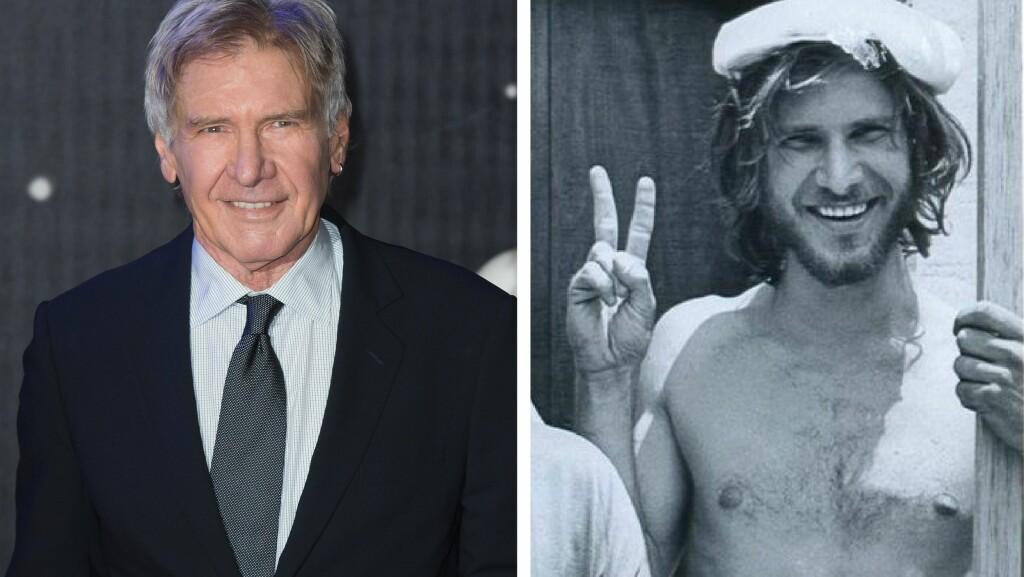 HOLDER SEG GODT: Det er 45 år mellom disse to bildene. Bildet til venstre er fra desember og bildet til høyre fra 1970. Foto: NTB Scanpix/Sergio Mendes/Facebook