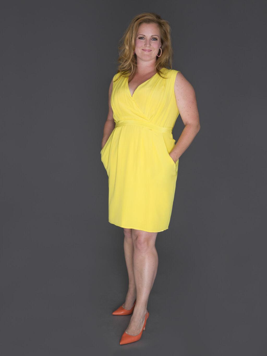 GLØDER: Etter forandringen mente Susannah at Siri Kristiansen er prikk lik Drew Barrymore.  Foto: FEM