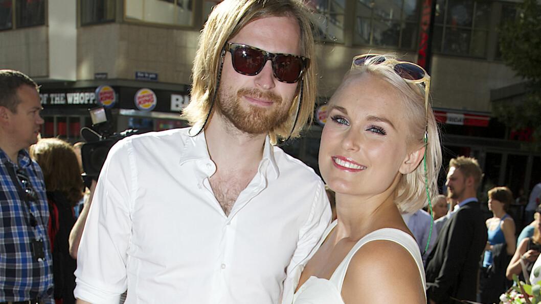 BLE FORELDRE: Musiker-ekteparet Eva Weel Skram og Thomas Stenersen fikk en liten sønn mandag 4. januar. Foto: Tore Skaar