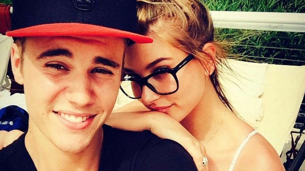 MER ENN BARE VENNER? Justin Bieber og Hailey Baldwin har vært venner i lang tid, men i juleferien har duoen feriert sammen og begge har postet hete bilder av turen på sosiale medier. Foto: NTB Scanpix