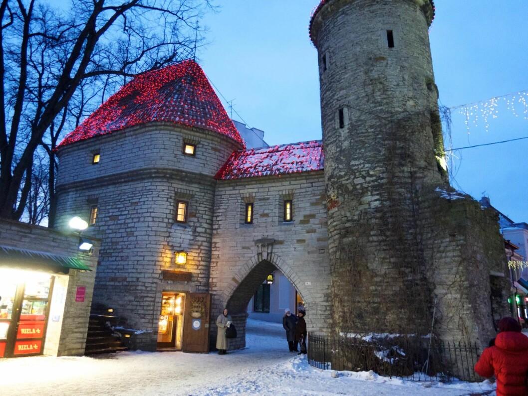 REN IDYLL: Gamlebyen i Tallinn er oppført på UNESCOs verdensarvliste.