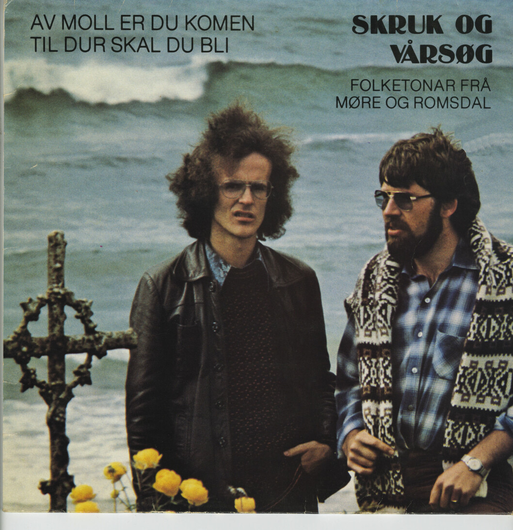 MOLLSTEMT: Henning Sommero ser sur ut på platecoveret fra 1978. Foto: VENDETTA FORLAG
