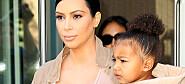 Kim Kardashian spiser morkaken etter fødselen