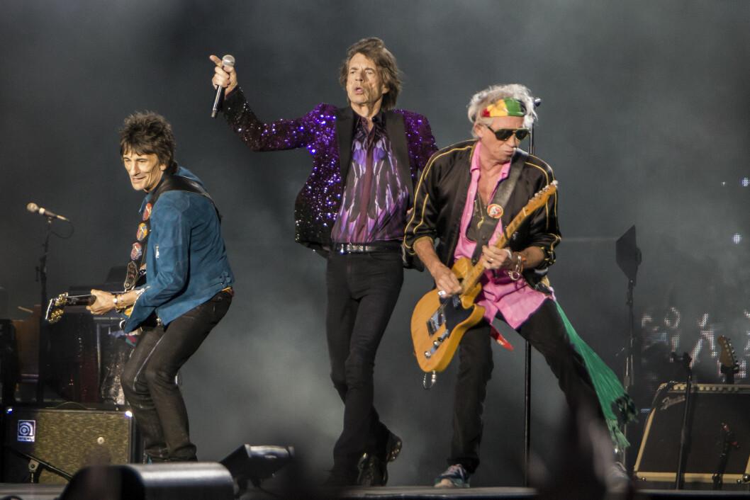 LANG KARRIERE: Woods har vært et medlem av The Rolling Stones siden 1975 - tre år før hans nåværende kone ble født.  Foto: Gonzales Photo