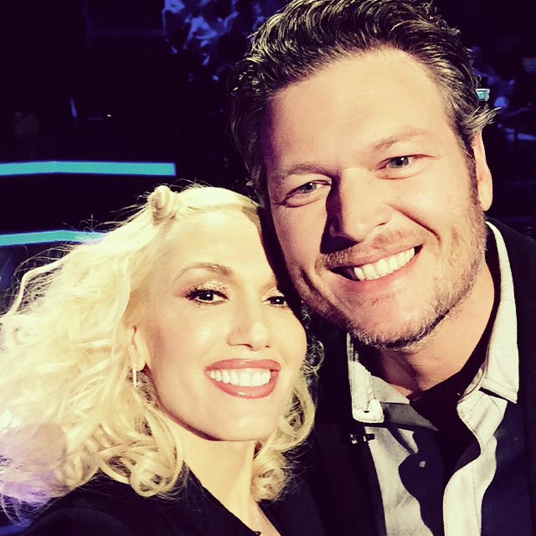 NY MANN: Stefani er nå sammen med countrysanger Blake Shelton.  Foto: Xposure