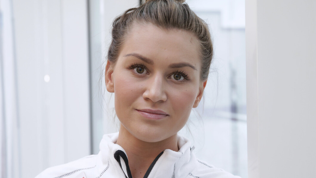 TØFF PERIODE: Håndballtalentet Amanda Kurtovic fikk beskjed om at hun kanskje var ferdig på toppnivå etter skulderskaden i 2012. Etter både operasjon og tøff trening har hun kjempet seg tilbake på landslaget og er nå klar for VM. Foto: NTB scanpix