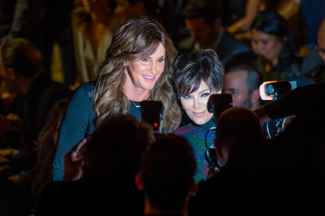 ANSTRENGT FORHOLD: Kris Jenner forteller at det er vanskelig å forholde seg til eksmannen som nå har blitt kvinne.  Foto: SipaUSA