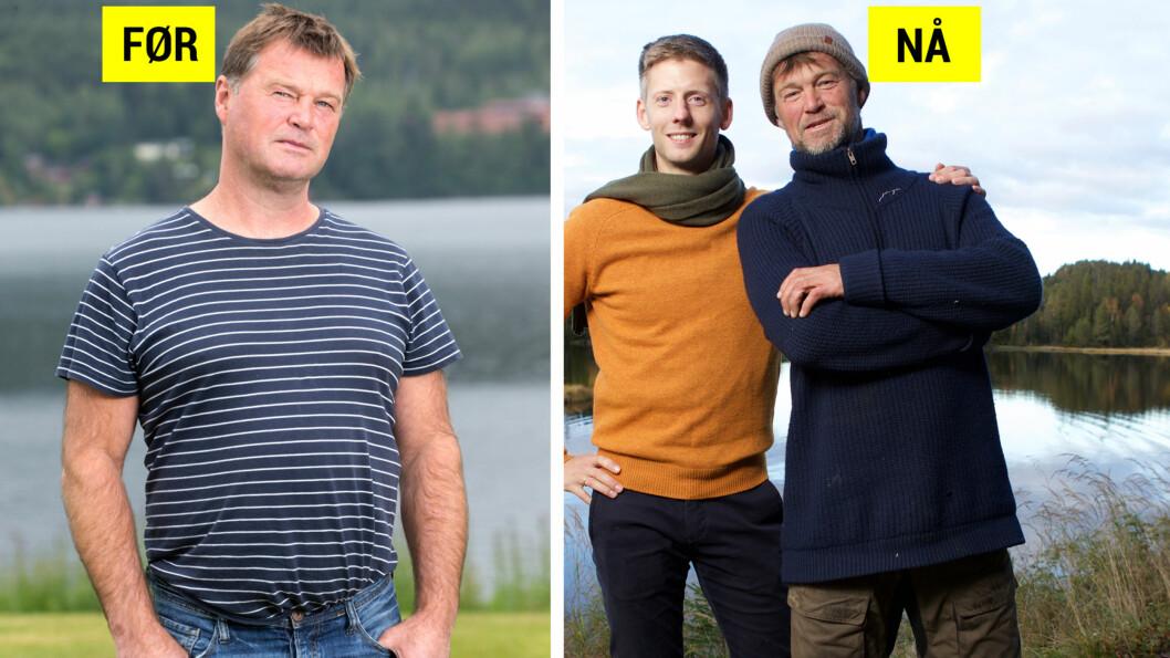 NED 25 KILO: Andre Danielsson gikk ned mange kilo i løpet av ukene på Farmen-gården. Foto: Andreas Fadum, Se og Hør / TV 2