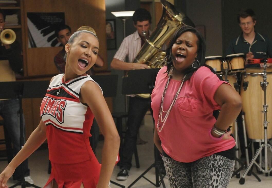 """TV-STJERNE: Det er slik mange er vant til å se Naya, som cheerleaderen Santana Lopez i """"Glee"""".  Foto: Scanpix"""