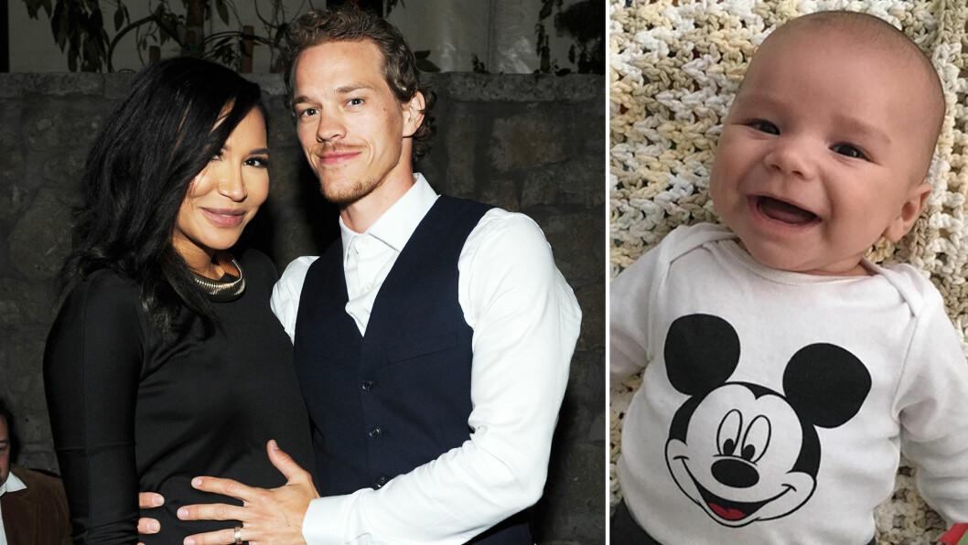 NYBAKTE FORELDRE: For to måneder siden kom Naya Rivera og Ryan Dorseys sønn, Josey, til verden. Foto: Scanpix