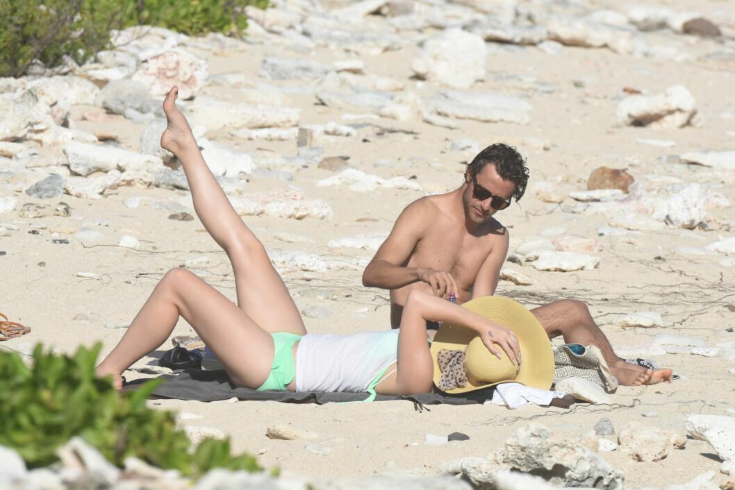 NØT FERIEN: Lana Del Rey og Francesco Carrozzini har ifølge PerezHilton.com vært sammen i nesten et år. Denne romjulen ferierte de sammen i Karibien. Foto: Crystal / Splash News/ All Over Press