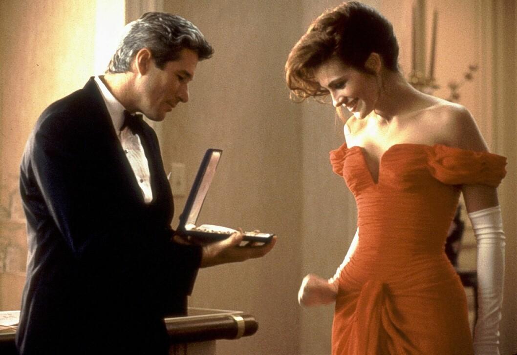 <strong>DRØMMEPAR:</strong> Romansen mellom Richard Gere og Julia Roberts i «Pretty Woman» fikk nok mange kinogjengere til å sukke henført i 1990.  Foto: ZUMA Press