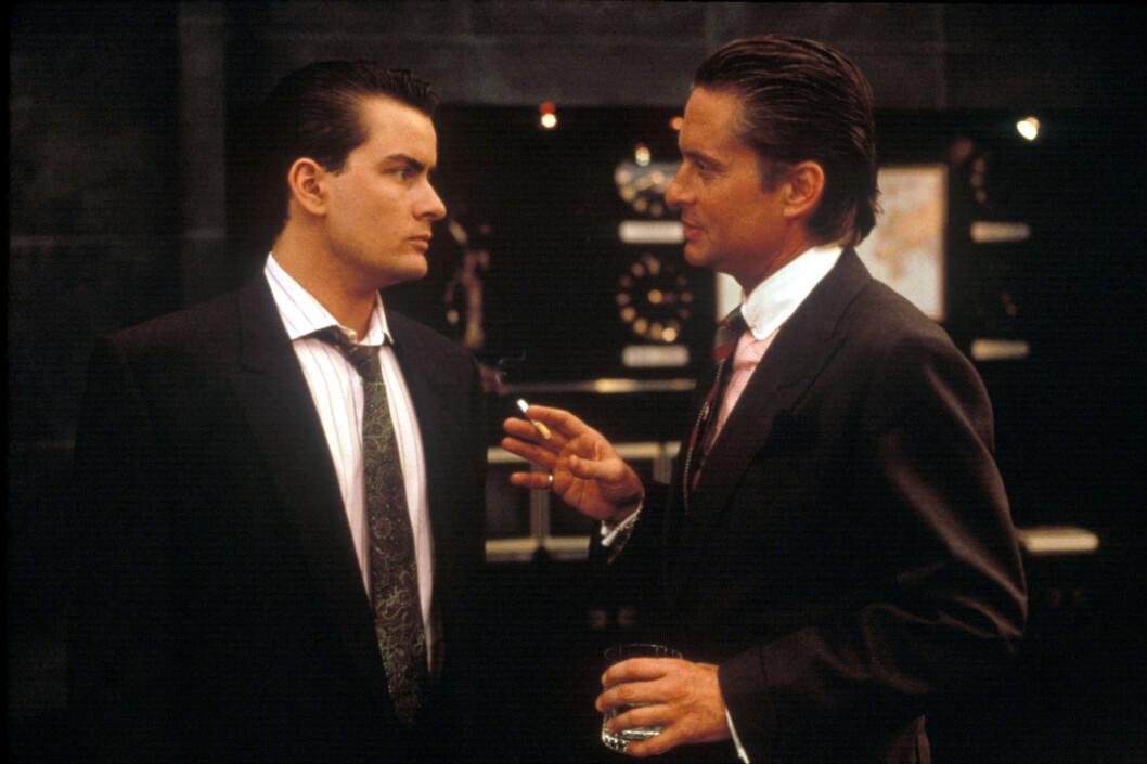 <strong>STOR STJERNE:</strong> Etter filmen «Wall Street» fra 1987 med Michael Douglas ble Sheen en stor stjerne.  Foto: SipaUSA