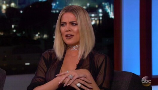 Khloe Kardashian raser etter TV-intervju