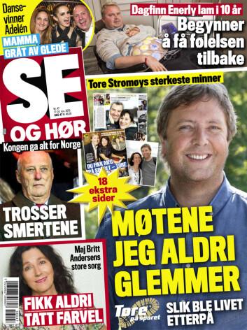 LES MER: I nyeste nummer av Se og Hør kan du lese mer om Andreas Mikkelsen. Foto: Se og Hør