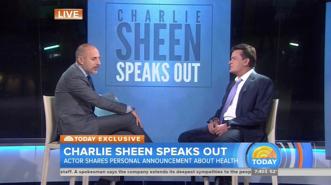 <strong>ÅPENHJERTIG:</strong> Ved å stå frem håper Sheen å kunne hjelpe andre som sliter med den samme diagnosen.  Foto: Xposure
