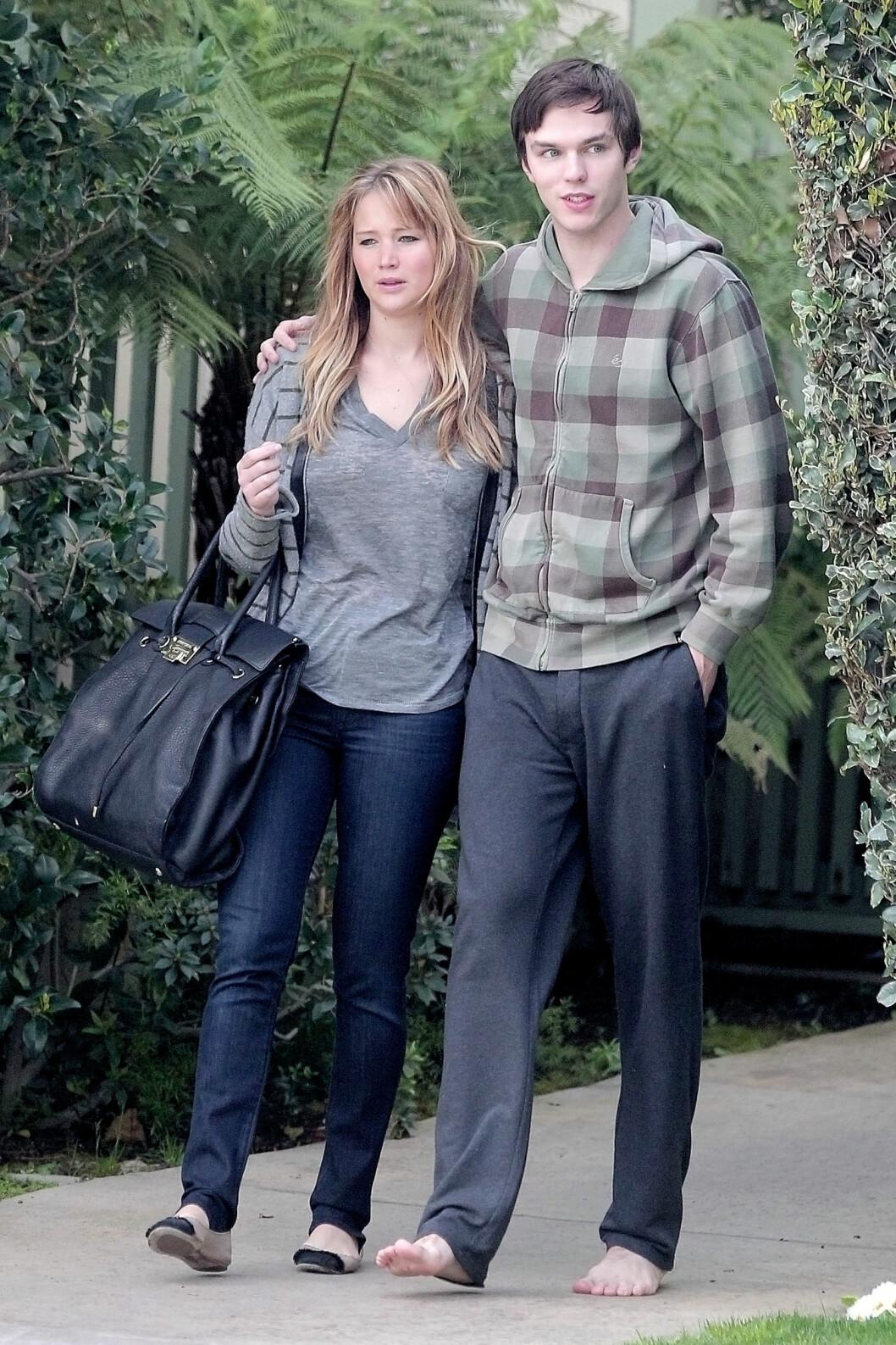 VAR SAMMEN I TRE ÅR: Jennifer Lawrence har tidligere vært sammen med sin kollega fra de populære «X-Men»-filmene i tre år, men paret gikk hver sin vei i 2014. Foto: All Over Press