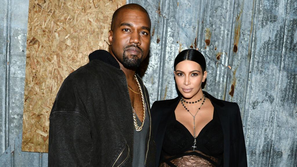 I LYKKELIGE OMSTENDIGHETER: Kim Kardashian giftet seg med Kanye West i en storslått seremoni i Firenze i slutten av mai 2014. Nå blir de snart tobarnsforeldre. Foto: SipaUSA
