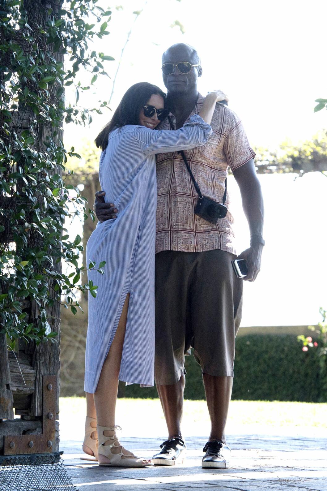 FORELSKET IGJEN: De siste månedene har Seal vært kjæreste med Erica Packer.  Foto: Xposure