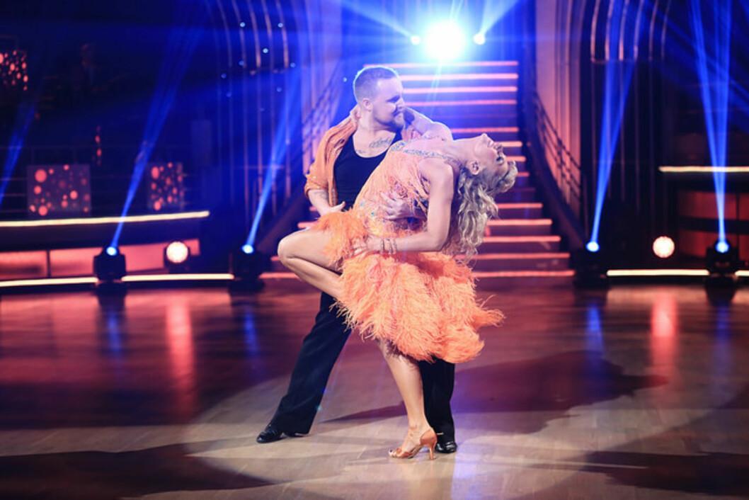 FLOTTE: Stian Thorbjørnsen i Skal vi Danse. Foto: TV 2