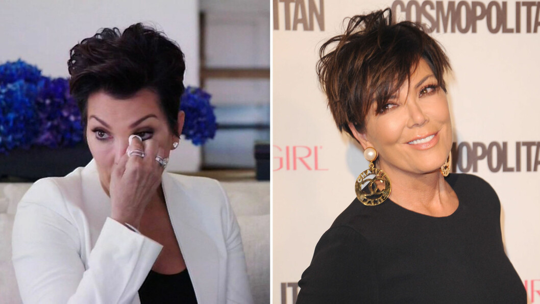 KLAR FOR FEST: 2015 har vært et år fullt av utfordringer for «Keeping Up With The Kardashians»-stjernen Kris Jenner. Etter å ha tatt til tårene da hun møtte eksmannen som Caitlyn Jenner for første gang i «I Am Cait» (t.v), virker det som om 60-årsdagen hennes blir en lystig affære! Foto: NTB Scanpix