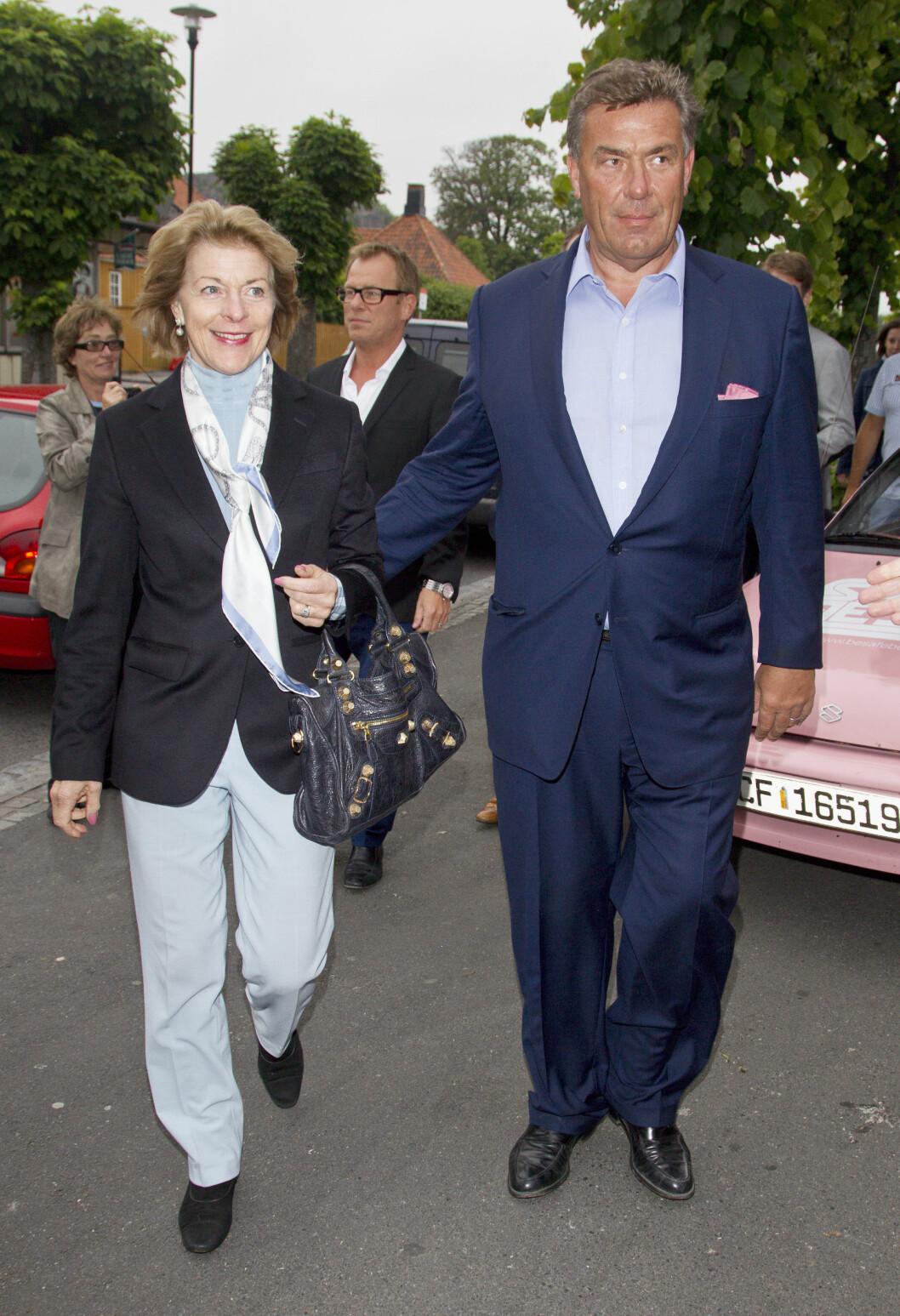 EKSKONA: I 2004 giftet Hagen seg med Mille-Marie Treschow. Det tidligere paret tok ut separasjon i 2012. Foto: Andreas Fadum