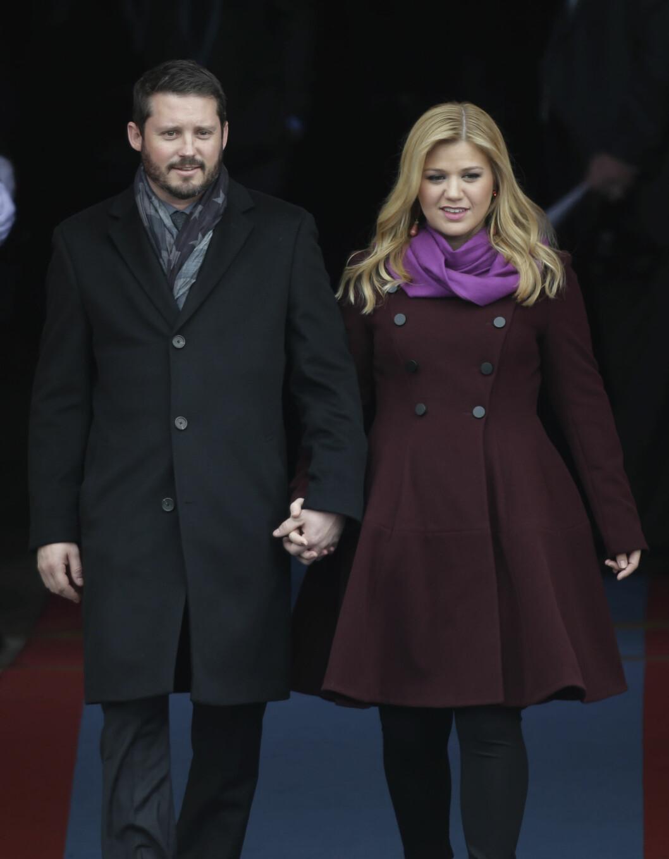 LYKKELIGE: Kelly og ektemannen Brandon har vært gift i to år.  Foto: NTB scanpix