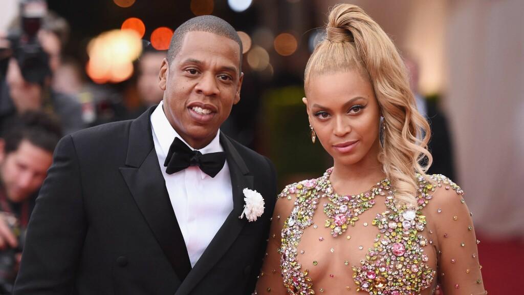 RYKTER: Beyoncé og Jay Z har datteren Blue Ivy sammen.  Foto: NTB scanpix