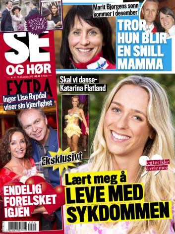 I SALG NÅ: Se bilde av Mats og Nina sammen i Se og Hør Extra.
