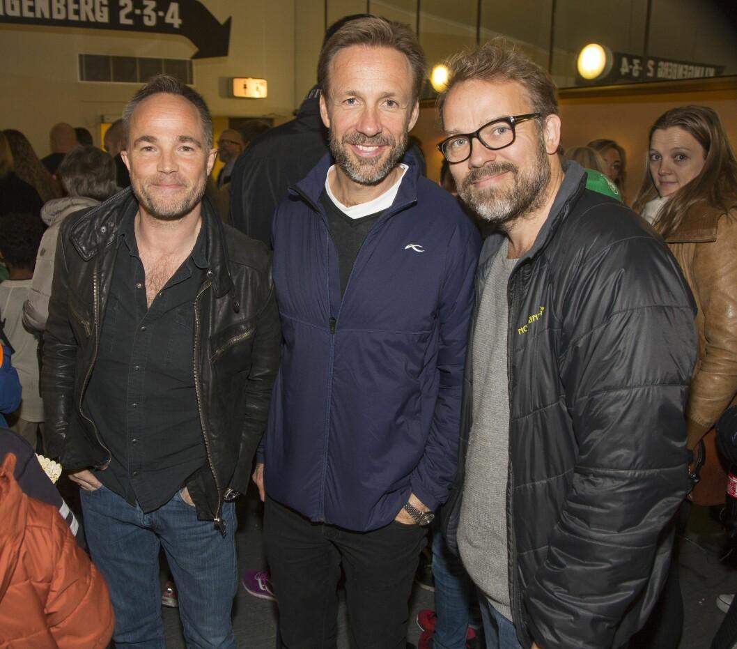 DOKTOR PROKTOR: Skuespillertrio Jon Øigarden, Thomas Giertsen og Christian Skolmen. Foto: Tore Skaar/Se og Hør