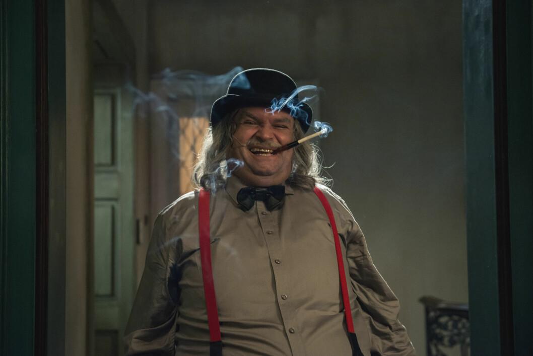 GOD OG RUND: Atle Antonsen spiller slemme Claude Cliché i «Doktor Proktors tidsbadekar» Foto: Filmweb