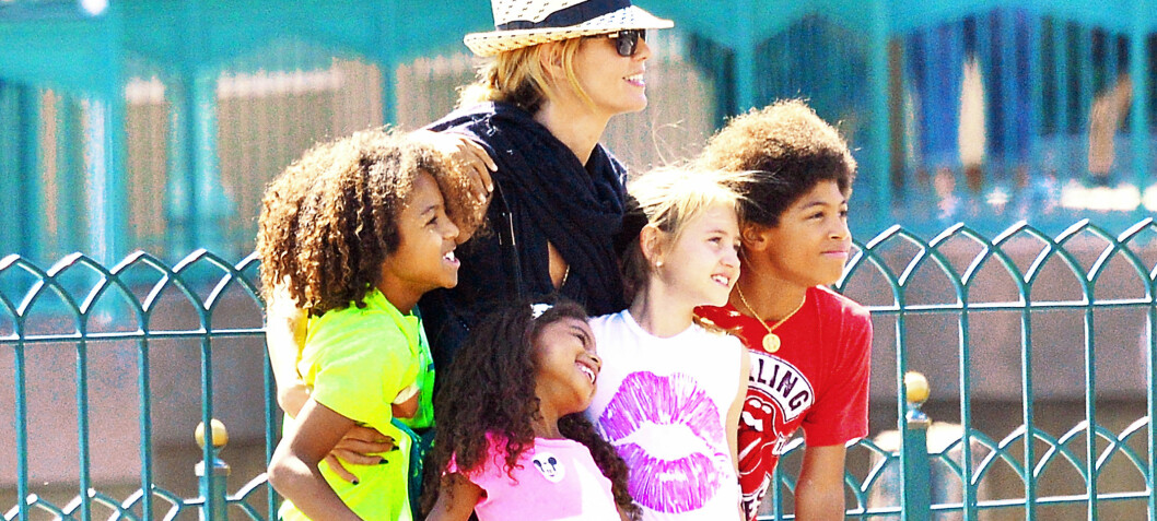 Heidi Klum: - Jeg er både mamma og pappa for barna