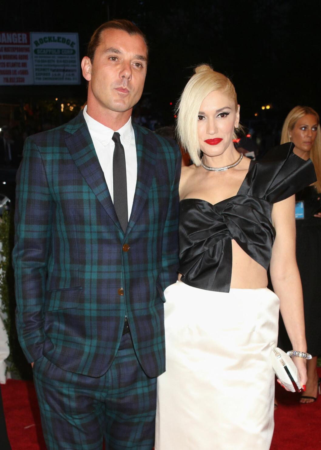 BRUDD: I sommer gikk Gwen Stefani og Gavin Rossdale hvert til sitt.  Foto: Demotix