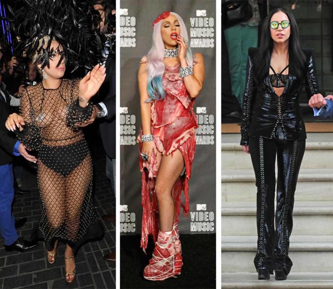 ALTERNATIVT: Lady Gaga slik vi er vant til å se henne. Foto: NTB Scanpix