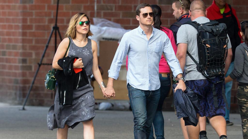 PRØVER IGJEN: Sophia Bush og Jesse Lee Soffer gjorde ingenting for å skjule følesene sine da de ble fotografert sammen i New York 27. september. Foto: Wylde / Splash News