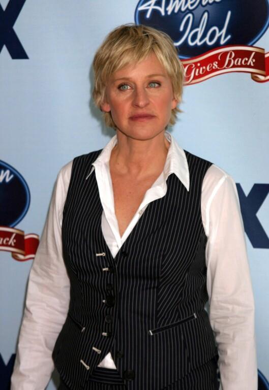 <strong>OMBESTEMTE SEG:</strong> I 2010 var Ellen dommer for American Idol, men sluttet etter kort tid.  Foto: NTB scanpix