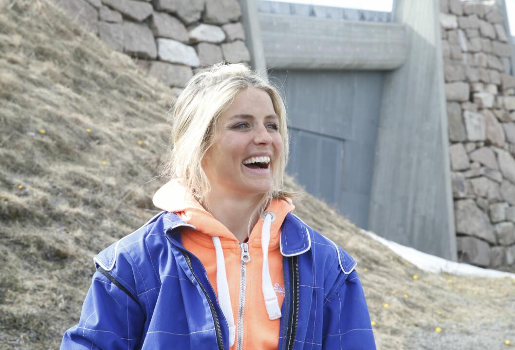 LITEN GRUNN TIL Å SMILE: Dette var Johaugs andre brudd i hånden på en drøy måned. Foto: NTB scanpix