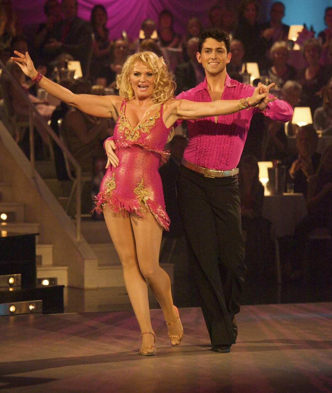 SPREK: I 2009 var Mia med på «Skal vi Danse».  Foto: Tor Lindseth