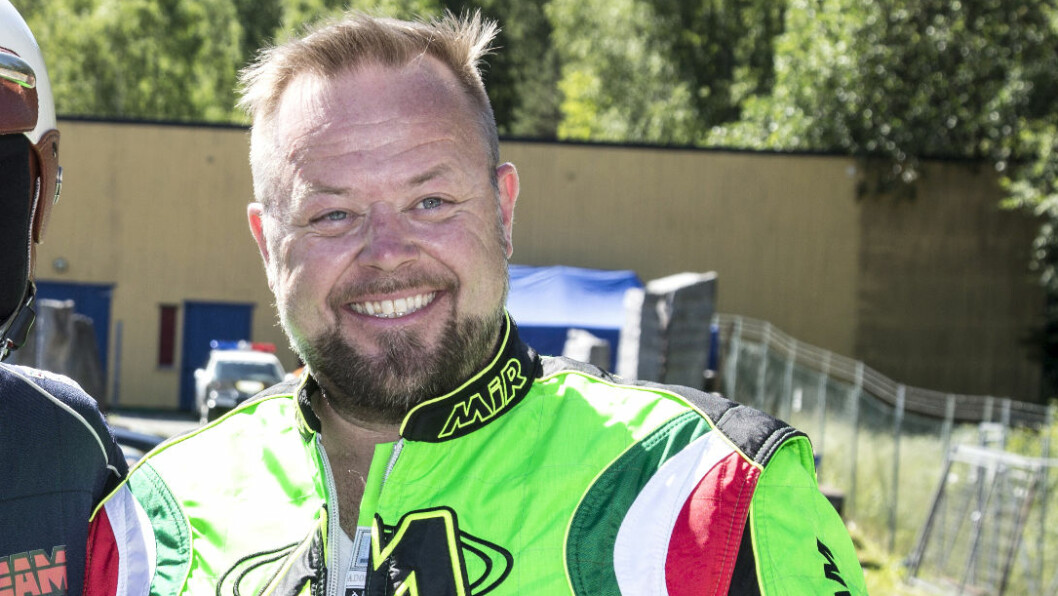 <strong>MOTORGAL:</strong> Asgeir Borgermoen har motordilla, og hadde sine første erfaringer bak rattet som niåring. Foto: Morten Eik, Se og Hør
