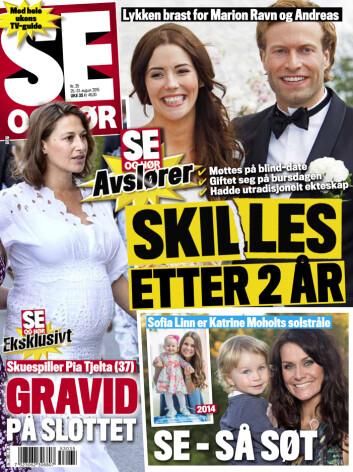 I SALG NÅ: Les mer om Tjeltas graviditet, og se bilder i Se og Hør, som er i salg nå.