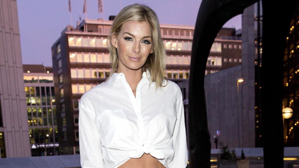 HASTER IKKE: For modell og TV-personlighet Kathrine Sørland er det ingen hast å utvide familien. Foto: Andreas Fadum / Se og Hør
