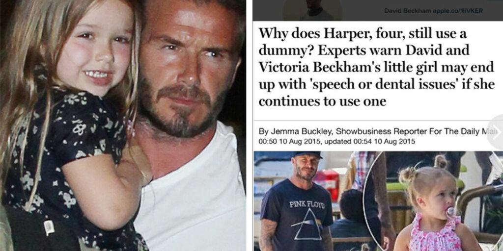 image: Beckham raser over Harper-hets