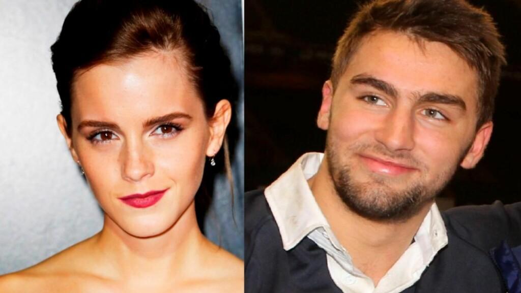 """EKS-KJÆRESTER: Emma Watson beskriver bruddet med sin tidligere kjæreste, rugby-spiller Matthew Janney, som """"forferdelig"""". Foto: All Over Press"""