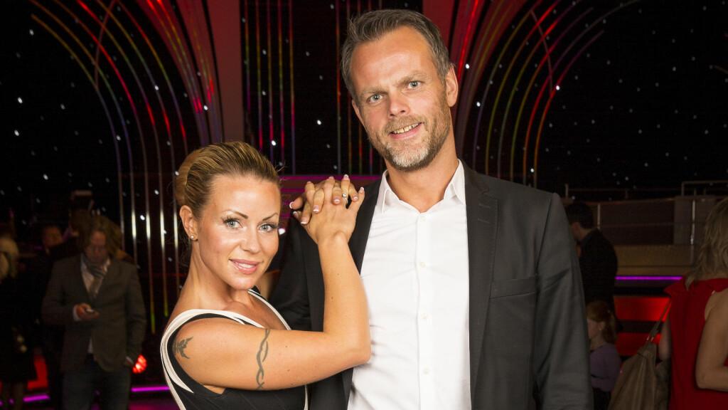 SAMMEN IGJEN? Lene Alexandra og Børge Kraft-Pettersen var kjærester fra 2011 til 2013. I sommer har de feriert sammen.  Foto: Tor Lindseth, Se og Hør