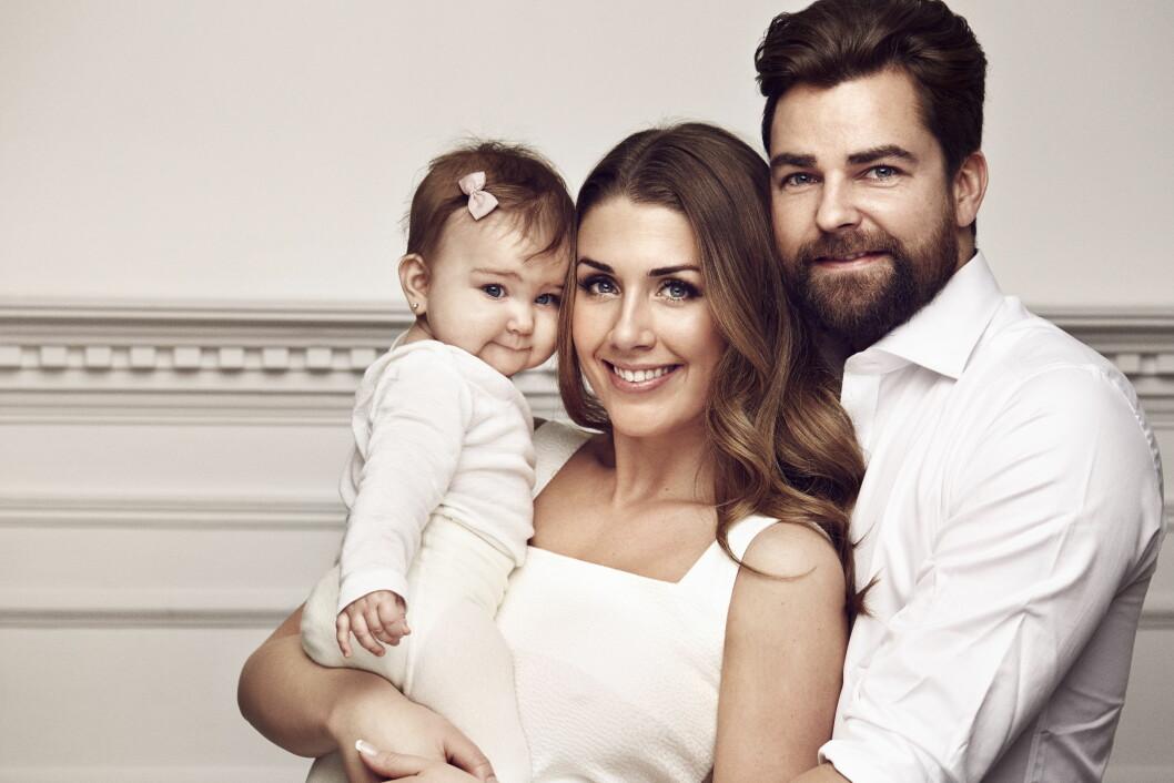 FORANDRER IKKE IMAGE: Damli sier hun ikke ønsker å endre på sitt eget image etter at hun og samboeren Markus Foss ble foreldre til datteren Billie.