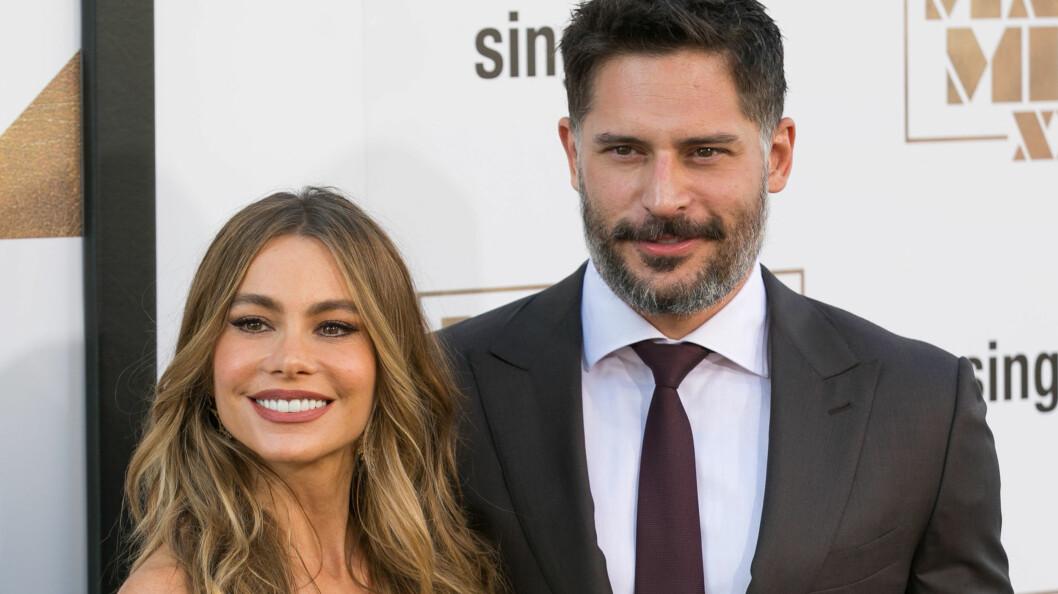 BLIR MANN OG KONE: Om fire måneder skal Sofia Vergara og Joe Manganiello være klare for å gifte seg.  Foto: NTB Scanpix