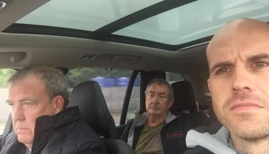 Her kjører Jeremy Clarkson sin siste runde på Top Gear-banen